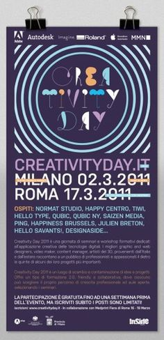 Creativity Day #poster #creativity #day