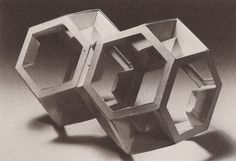 grain edit · Principles of Three-Dimensional Design #wucius #wong #geometric