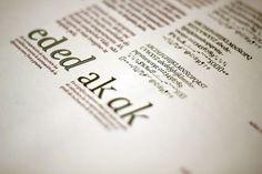 Especimen Tipografico on the Behance Network #editorial #typography