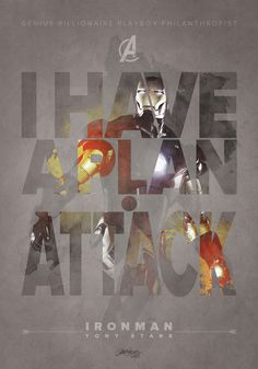 Iron Man –The Avengers– by Laura Racero #print
