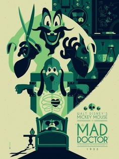 OMG Posters! #strong #mad #doctor #mondo #the #tom #disney #poster #whalen #stuff