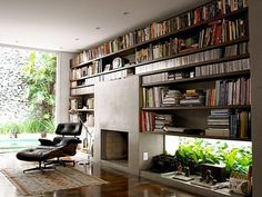 FFFFOUND! | THE BRICK HOUSE #design #books #interiors #wood #furniture #eames