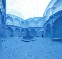 Giant Inflatable Ballons Interior Spaces by Penique Productions #interior #creative #balloons #p #art #photobook