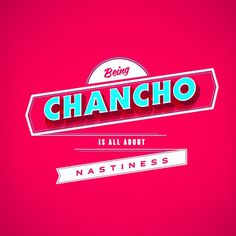 Mantras #type #chancho #typography