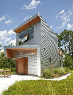 Dutchess House is a Low Energy Home Clad in Aluminum