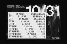 M35 | Ten Pieces Stripes