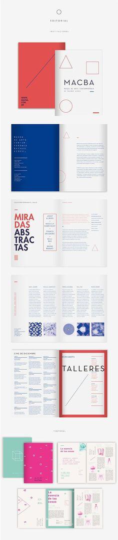 Identidad de Museo #print #booklet
