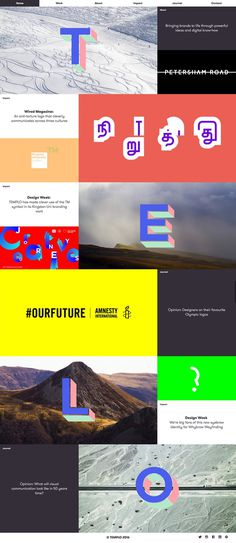 Templo branding and digital agency from UK webdesign inspiration design blog mindsparkle mag