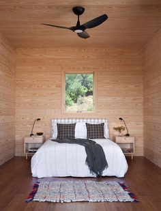 Off-the-Grid Porch House in West Texas 9, bedroom