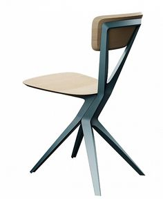maybe chair by Andrea Borgogni #aluminum #chair #design #italian #furniture #award #winner #cast #italy