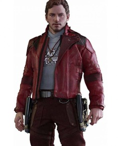 Star Lord Cosplay Leather Jacket