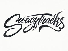 Typeverything.com - SwagyTracks by Ged Palmer #script