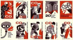 Czechoslovak matchbox labels (uncut sheet) | Flickr – Compartilhamento de fotos! #matchbox #label