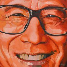 Li Ka Shing #painting #oil