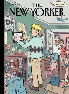 PhD humor and PhD facts Â« Reza Ghadiri Project #phd #boomerang #cover #yorker #2010 #generation #may #magazine #new