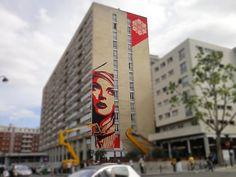 "Shepard Fairey – ""Rise Above Rebel"" New Mural In Paris « SIXAND5 – Inspiration webzine"
