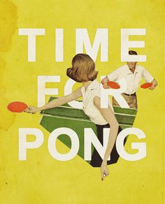 Time For Pong by Heather Landis
