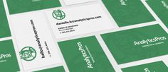AnalyticsPros - Business Cards #agency #belief #collateral