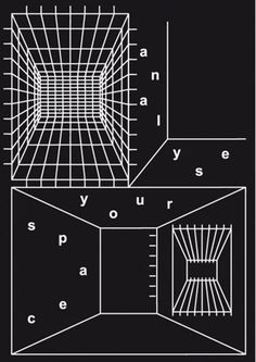 FFFFOUND! | Lancia TrendVisions - Trend Wall #grid #black #poster