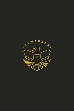 sdf #branding #cultura #icon #camarada #culture #iphone #eagle #comrade #logo #wallpaper