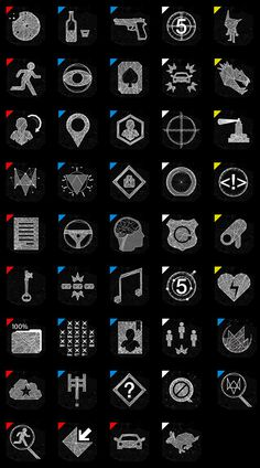 Watch Dogs | Graphic Direction on Behance #watch_dogs