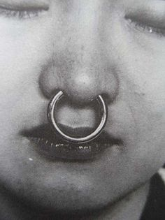 nose ring #people