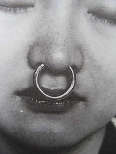 nose ring #people