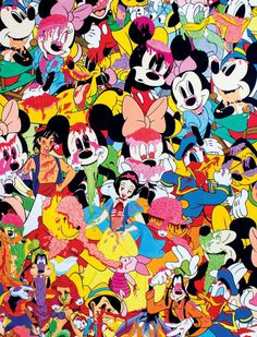 #disney #pattern #painting