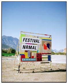 SAVVY STUDIO | Festival Nrmal 2013 #signage