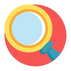 See more icon inspiration related to search, zoom, ui, seo and web, Tools and utensils, loupe, edit tools, detective, magnifying glass and computer on Flaticon.