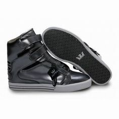 kids black white supra society high tops shoes #shoes
