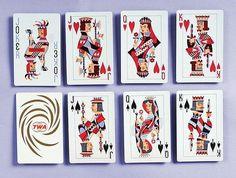 TWA Playing Cards