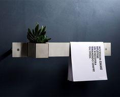 Emme Stainless Steel Accessories by Mina - InteriorZine