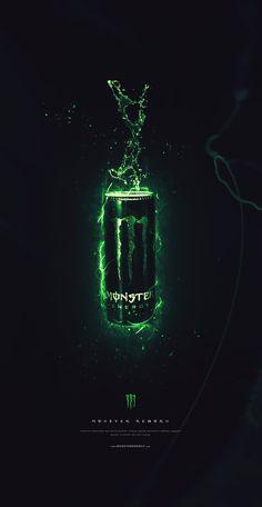 Monster Energy on Behance