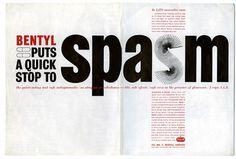 Creative Review - Pushing drugs #spasm #white #red #black #bentyl