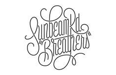 Sunbeam Rd / James T. Edmonson #lettering
