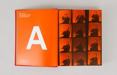 editorial design #print #orange #editorial