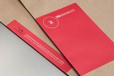 Agency Branding on Behance #embossing #branding #packaging #self #identity #ci #promo #logo