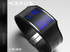 N3XU5 LCD Watch