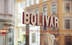 Bolivar #signage #heydays #branding #typography
