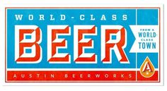 FFFFOUND! | Brand Identity | Austin Beerworks | Helms Workshop #logo #beer