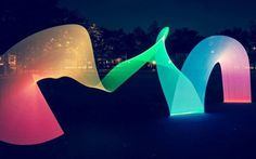 Pixelstick | Light painting evolved #color #exposure #trail #night #rainbow #light