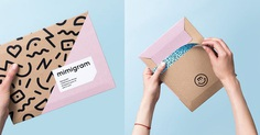 Mimigram is a mobile printing app from Russia allowing users to turn their best moments into awesome products, such as photos, photo album and photo collages in modern packaging. For more of the most beautiful designs visit mindsparklemag.com