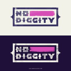 No Diggity #90s #typography #rnb