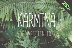 Karmina is a handwritten font designed by ArtCoast Design Agency. We wanted to create the most generic, readable and balanced handwritten font, to wor