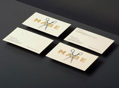 mabe_03 #card #collateral #business #foil