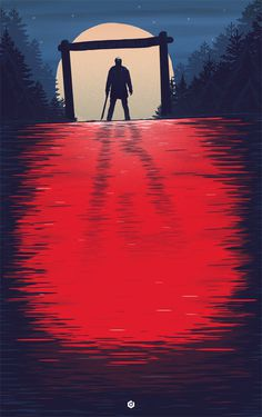 Alternative Movie Posters by Doaly | Friday The 13th #13th #friday #design #graphic #the #illustration #doaly #poster #film
