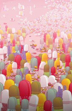 """""""Society of Pills"""" #pills #society #illustration #apparel #shop #online"""