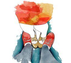 Revista Viver Curitiba marianapoczapski #illustration