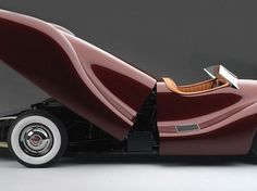 1948 Buick Streamliner by Norman E. Timbs #car #concept #1948